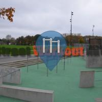 Parkour Park Hamm Lippepark ehemalige Zeche