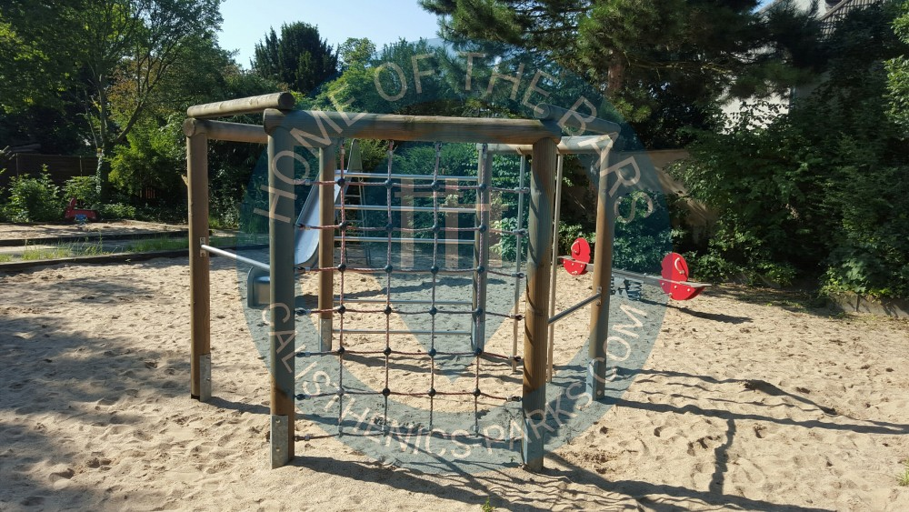 Klettergerüst Calisthenics : Trainingspark donauinsel calisthenics wien