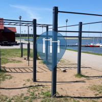 Rydzyna - Street Workout Park - Zbiornik Rydzyna