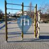 Монтеротондо - уличных спорт площадка, - Palestra della Pista ciclabile via E. De Nicola