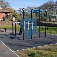 Parque Calistenia - Londres - Outdoor Fitness Grangewood Park