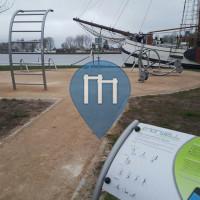 Groningen - Parc Musculation - Damsterbuurt