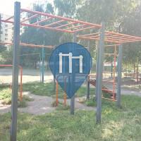Outdoor Pull Up Bars - Kiev - Outdoor Gym Kiev