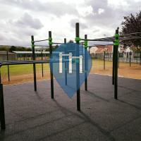 Poissy - Parque Calistenia - Complexe Sportif Marcel Cerdan