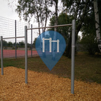 Fitness Trail - Erlangen - Klimmzugstangen am Silbergrasweg