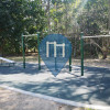 Street Workout Anlage - Brisbane - Bodyweight Gym Bowman Park - Bardon