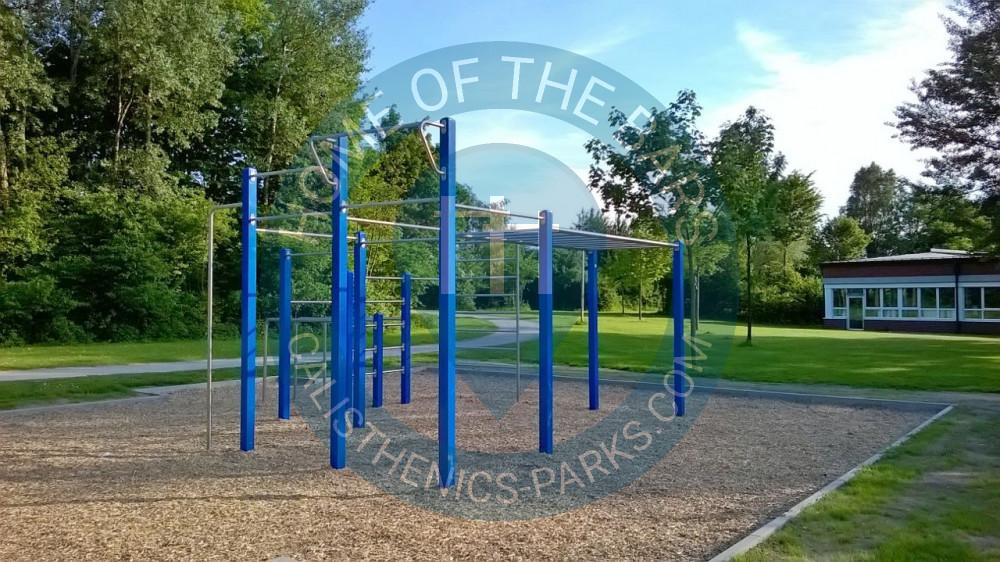 Klettergerüst Calisthenics : Steinhagen calisthenics park outdoor fitness geräte