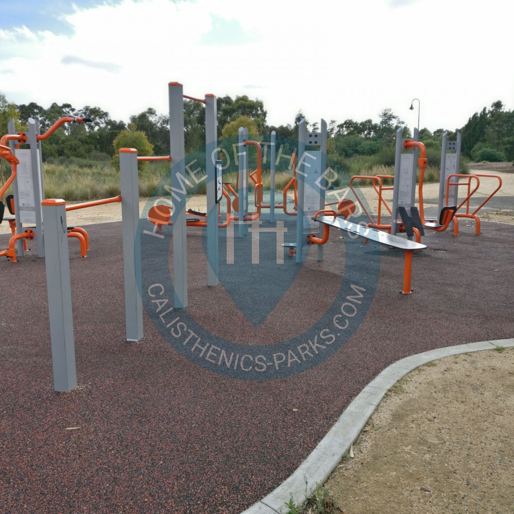 Melbourne Northcote Outdoor Exercise Gym All Nations Park