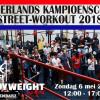 Nederlands Kampioenschap Street Workout 2018