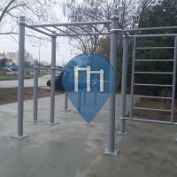 Bordeaux - Street Workout Park -  Avenue du Président François Mitterrand