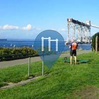 Сиэтл - уличных спорт площадка - Centennial Park