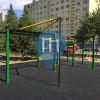 Bratislava - Calisthenics Park - Nobelova