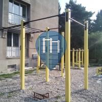 Братислава - Воркаут площадка - Vinohrady