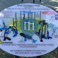 Exercise Park - Chessington - Outdoor Fitness King George's Park