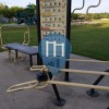 Calisthenics-Anlage - Fort Worth - Anderson Campbell park