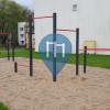 Piła - Calisthenics Park - Śniadeckich/ Szkoła
