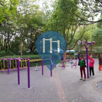 Shanghai - Outdoor Exercise Gym - Baoshan Qu-Peony Mansion