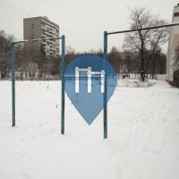 Moskau - Outdoor Gym Park - ANSLAV-AVTO