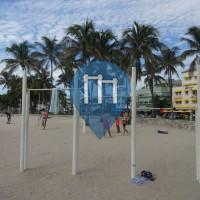 Miami Beach - Outdoor Fitness Corner - Lummus Park