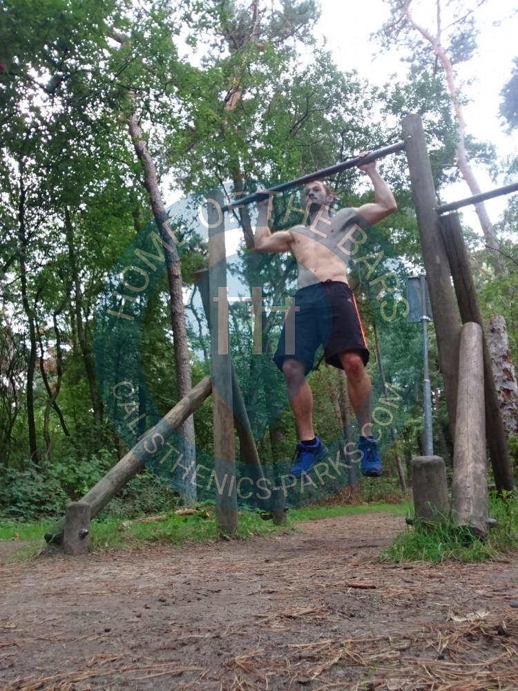Tilburg - Outdoor Fitness Trail - De Oude Warande - Netherlands - Spot