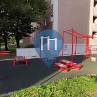 Воркаут площадка - Любляна - Outdoor Fitness Kardeljeva