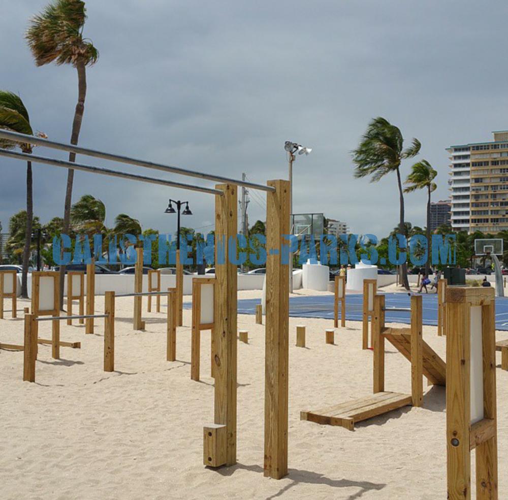 Fort Lauderdale Calisthenics Park Beach