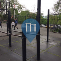 New York - Outdoor Fitness Gym - Jacob Javits Playground