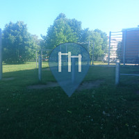 Riga - Outdoor Exercise Stations - Jauno tehniķu centrs