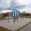 Любляна - Воркаут площадка - Dijaški dom Poljane SW park
