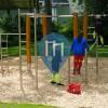 Parc Street Workout - Wetter - Calisthenics Geräte Alter Friedhof