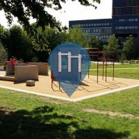 杜塞尔多夫 - 跑酷公园 - Stadt-Natur-Park Flingern