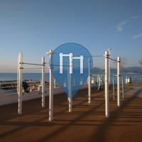 Cannes - Parco Calisthenics - Bocca Cabana