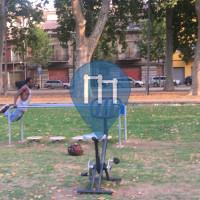 Calisthenics-Anlage - Girona - Outdoor Fitness La Devesa