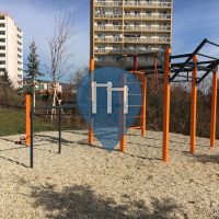 Братислава - уличных спорт площадка - Kadnárova Calisthenics