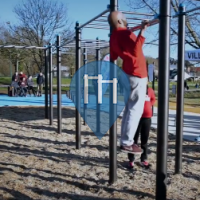 Quimper - Outdoor Exercise Gym - Complexe sportif de Creach Gwen