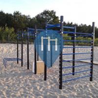 Przymorze Wielkie - Outdoor Crossfit Exercise Stations - Jantarowa