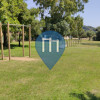Outdoor-Fitness-Anlage - Reckstange - Outdoor Fitness Parco comunale di Villasimius
