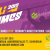 CALI GAMES 2019 - Calisthenics  competition (Urban Fit Days Berlin)