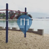 Singapore - Calisthenics Equipment - Sentosa Island / Palawan Beach