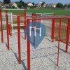 "Novi Sad - Street Workout Equipment - FK ""Borac"""
