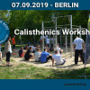 Calisthenics Workshop Berlin powered by Playparc