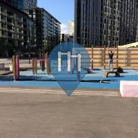 Melbourne - Palestra all'Aperto - Docklands
