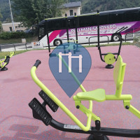 Outdoor Pull Up Bars - Aiguebelle - Outdoor Fitness Aiguebelle