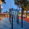 "Barras de dominadas al aire libre - Street workout park Višnjik ""Gamma"" - Športski centar Višnjik – Zadar"