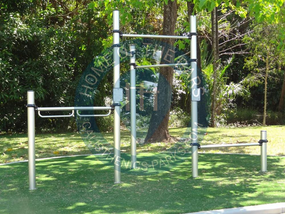 Cairns Manoora Outdoor Pull Up Bars Woodward Park