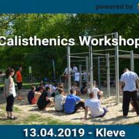 Calisthenics Workshop Kleve powered by Playparc