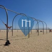 Венис-Бич - мышцы Пляж - Санта-Моника США