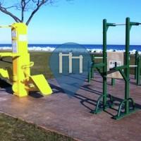 Milwaukee - Parque Calistenia - Bradford Beach Park