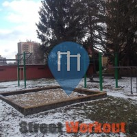 Mlada Boleslav - Street Workout Park / Outdoor Fitness Park - RVL 13