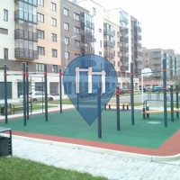 Krasnojarsk - Parque Street Workout - Kenguru.Pro